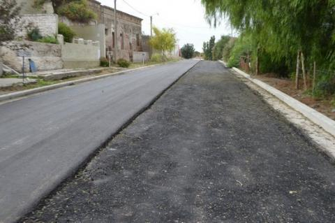 Pavimento Que Es : Se ejecutan importantes obras de pavimento en carmen patagones